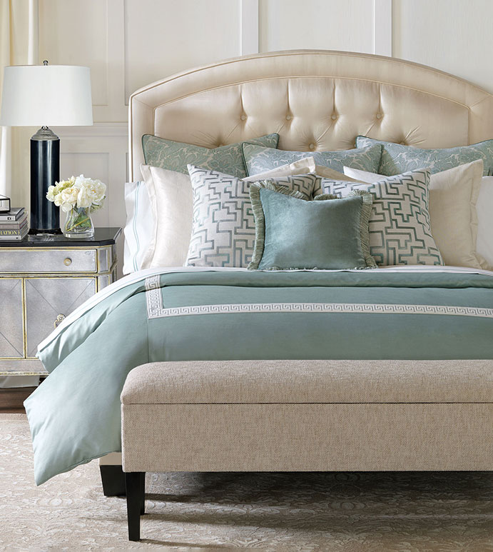 barclay butera luxury beddingeastern accents - central park