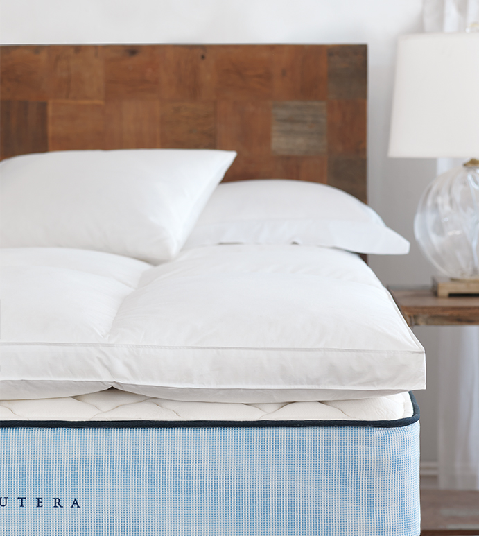 cloud faux down bed