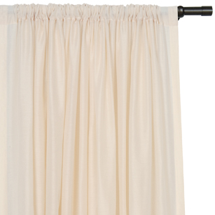 SADLER ALMOND CURTAIN PANEL