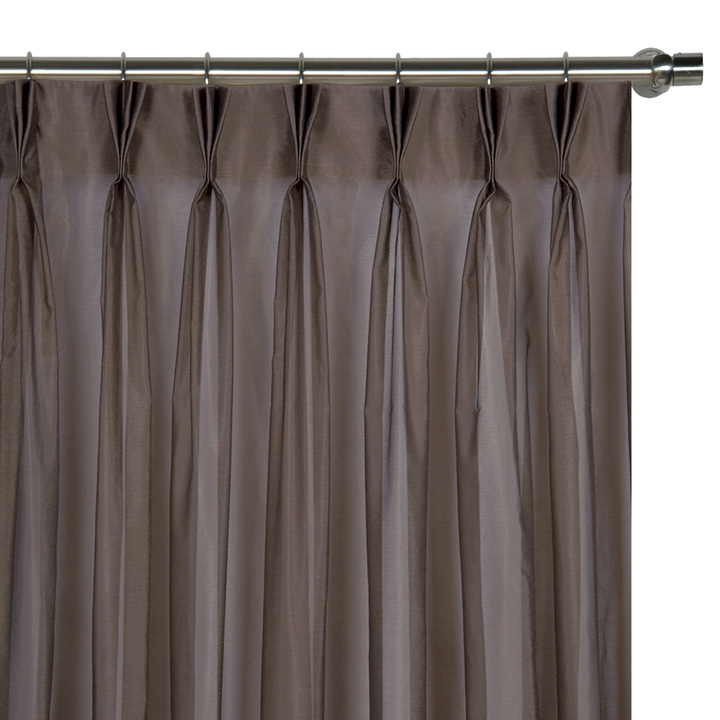 Ambiance Cocoa Curtain Panel