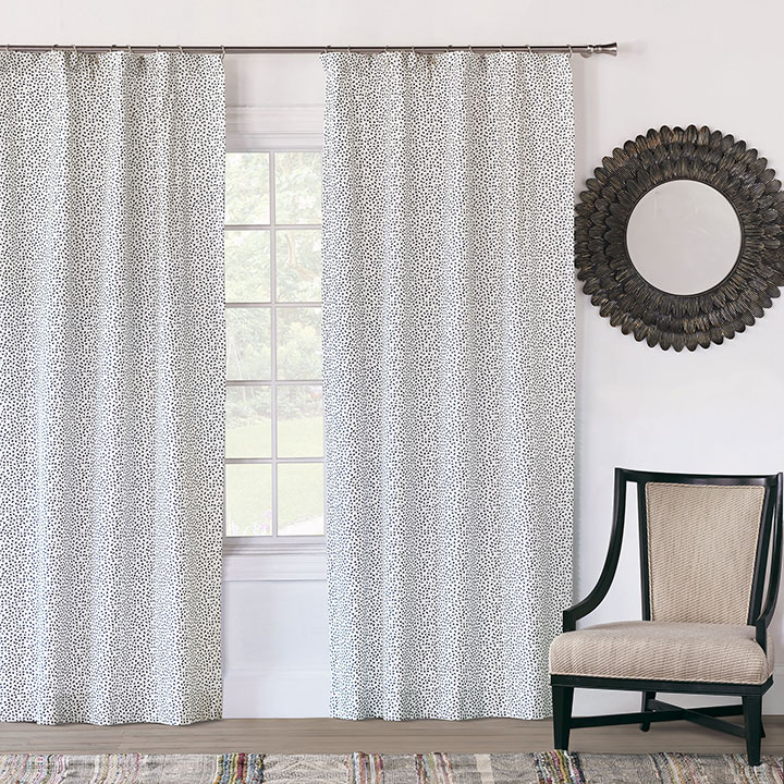 Hugo Speckled Curtain Panel