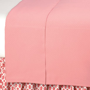 BALLET BLUSH COVERLET