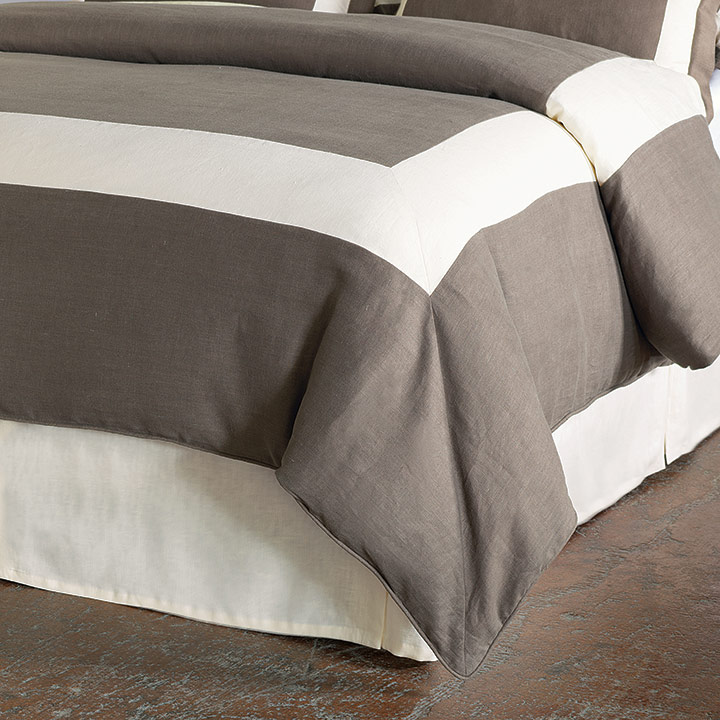 BREEZE CLAY/PEARL DUVET COVER and Comforter