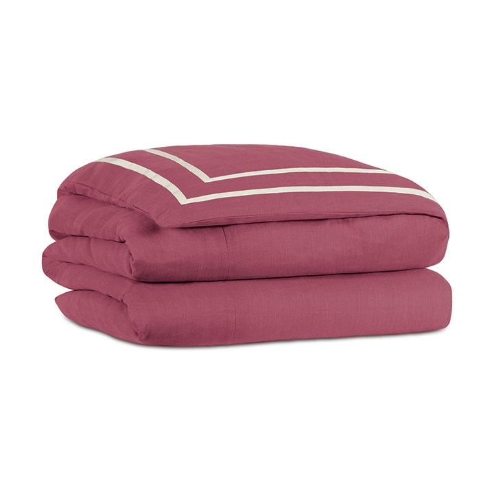 Resort Bloom Fret Duvet Cover