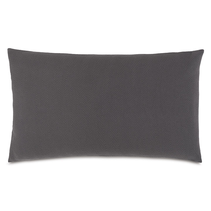 Bozeman Charcoal King Sham