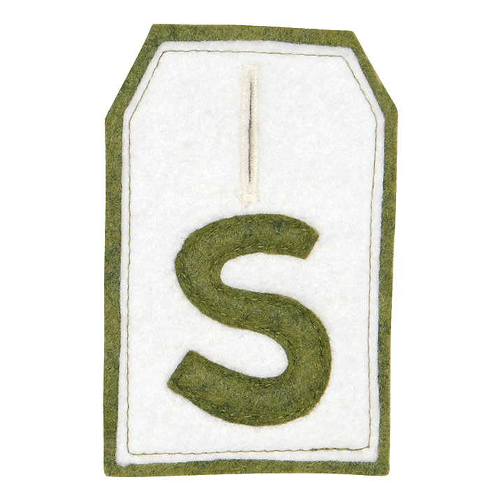 SPINACH STOCKING TAG