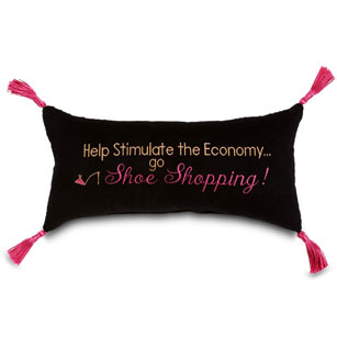 Help stimulate the economy... Go shoe shopping!