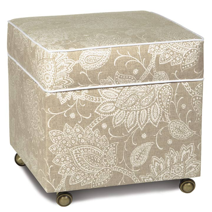 AILEEN STORAGE BOXED OTTOMAN
