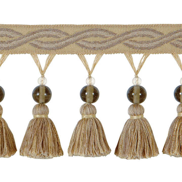 BEADED TASSEL TRIM GALLAGHER