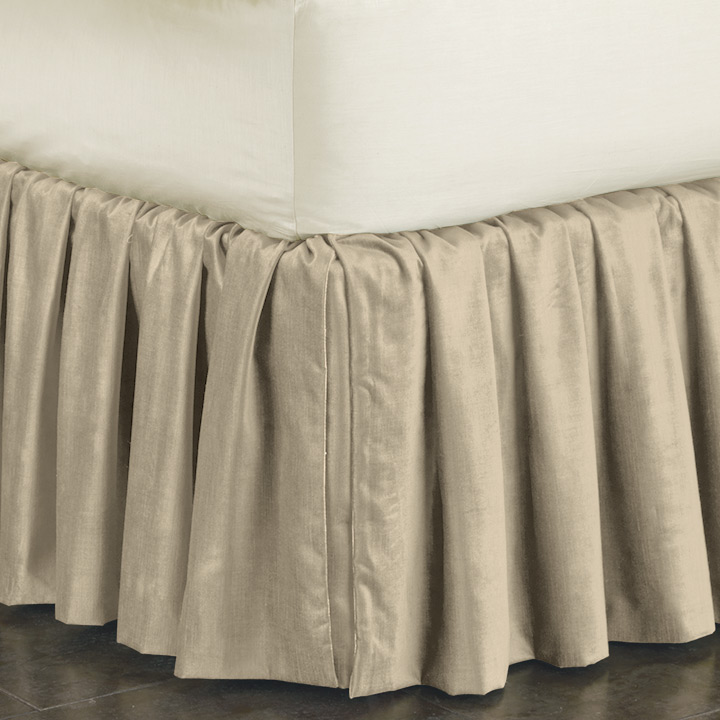LUCERNE TAUPE SKIRT RUFFLED