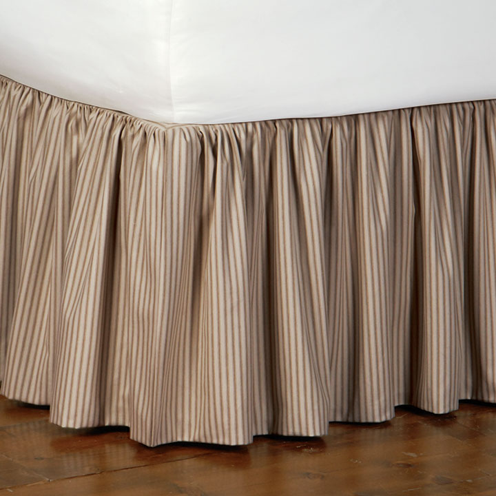 HEIRLOOM TOBACCO SKIRT RUFFLED