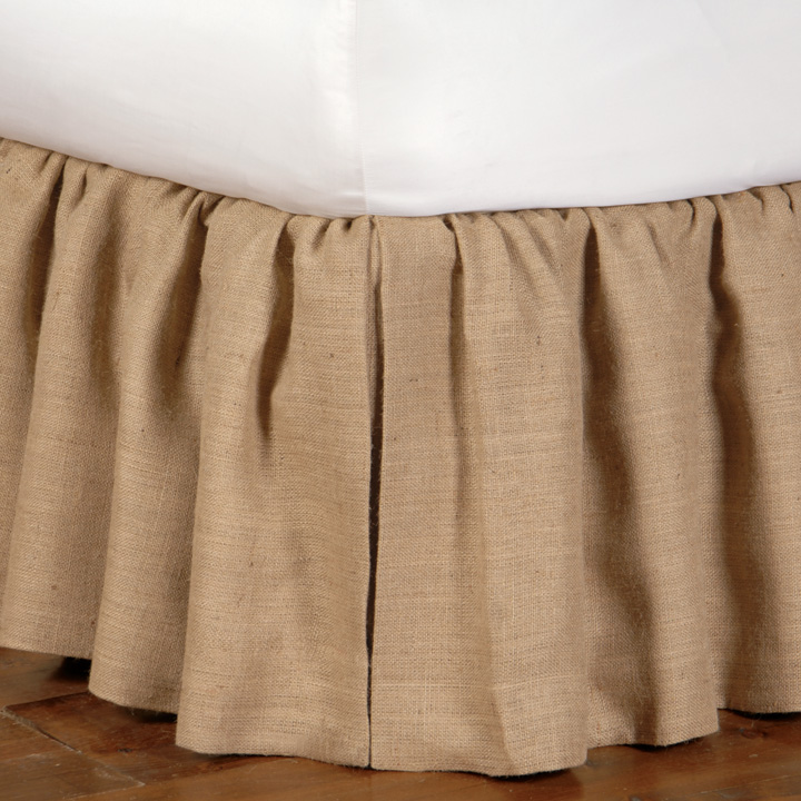 RUSTIQUE WHEAT SKIRT RUFFLED