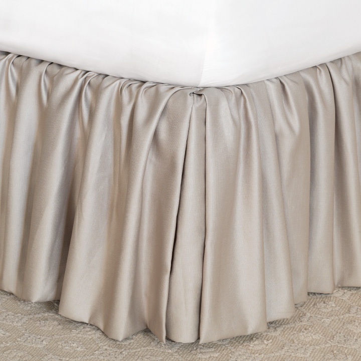 Mack Heather Bed Skirt