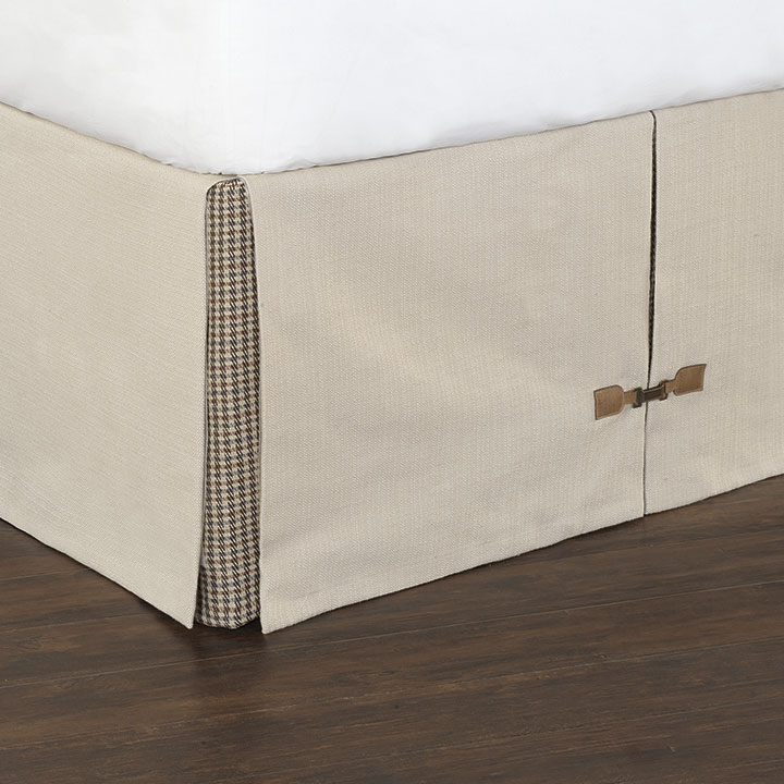 Vivo Bisque Bed Skirt