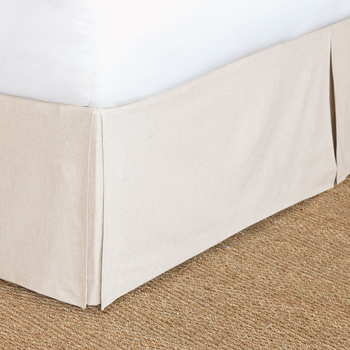 Greer Linen Bed Skirt