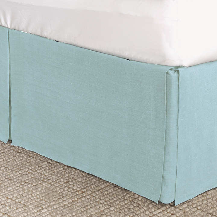 Resort Aqua Bed Skirt