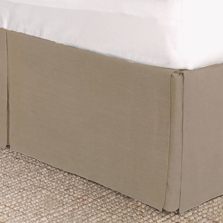 Resort Bisque Bed Skirt