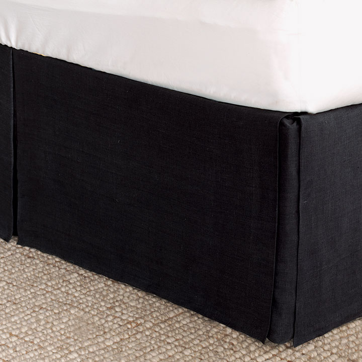 Resort Black Bed Skirt