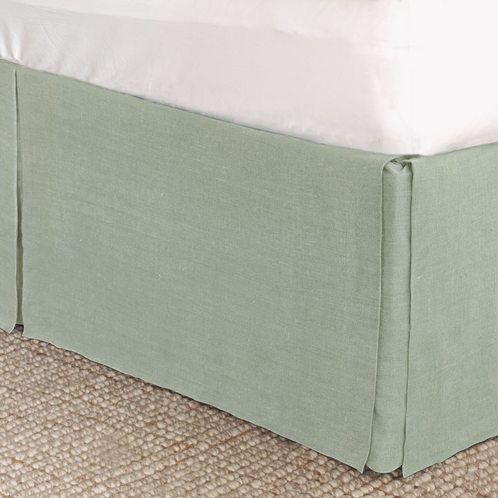 Resort Mint Bed Skirt