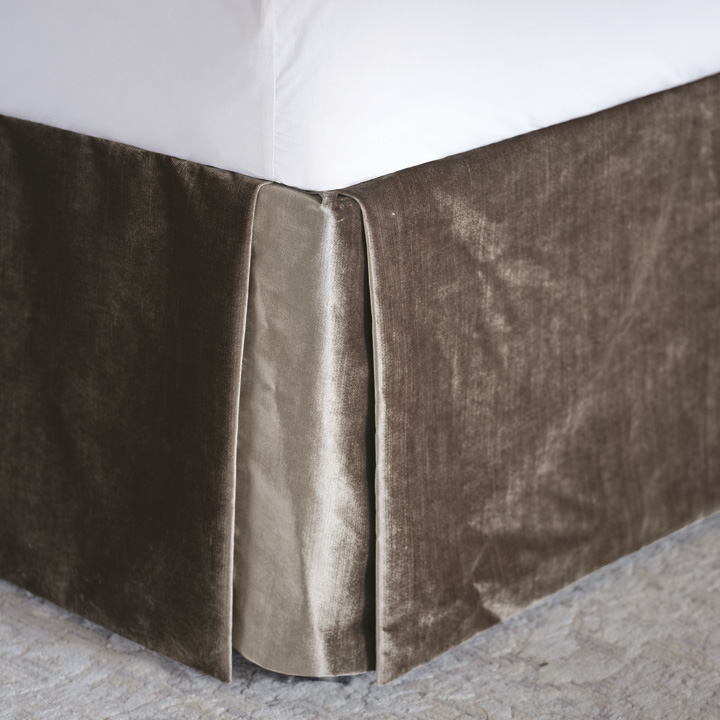 Teryn Velvet Bed Skirt