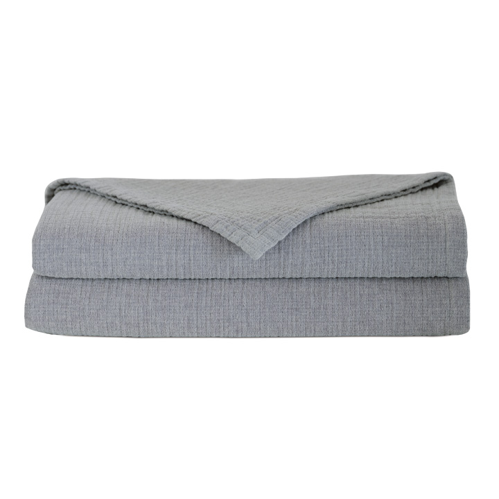 Cisero Matelasse Coverlet In Gray