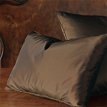 Freda Solid Taffeta - Chocolate