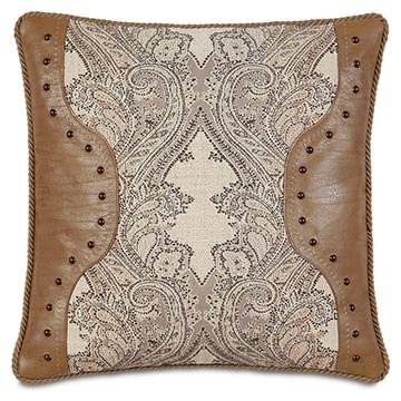 Aiden Lasercut Decorative Pillow