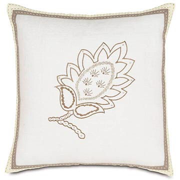 BREEZE WHITE EMBROIDERED