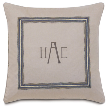 Mack Heather w/3-letter monogram