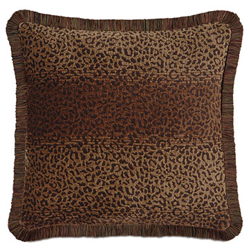 CONGO BROWN & SPICE PILLOW A