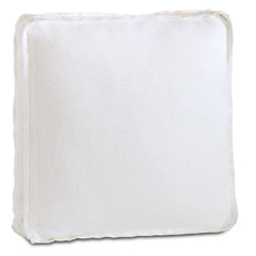 LEONARA WHITE ACCENT PILLOW