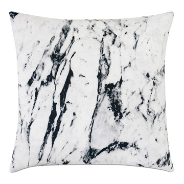 Banks Marble Decorative Pillow