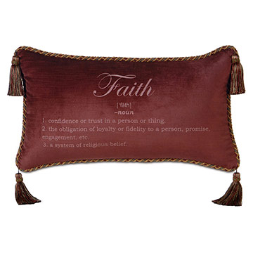 AVANT-GARDE PILLOW B (FAITH)
