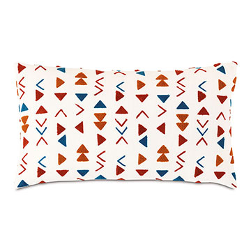 MACKAY EMBROIDERED DECORATIVE PILLOW