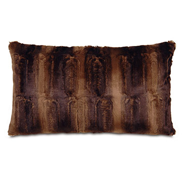 Karina Chocolate Accents Pillow B
