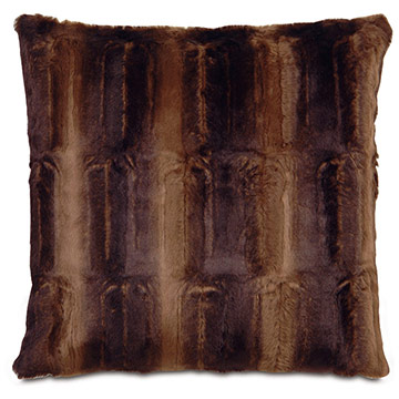 Karina Chocolate Accent Pillow C