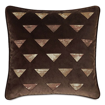 Fossil Lasercut Decorative Pillow