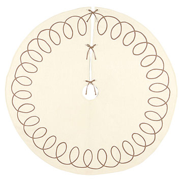 Loop-De-Loop Tree Skirt