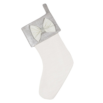 SILVER BOW STOCKING