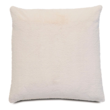 FUR IVORY PILLOW