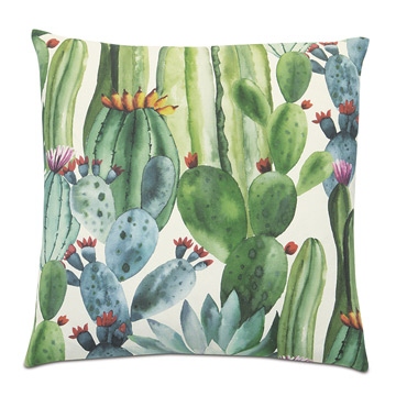 AGAVE CACTUS DECORATIVE PILLOW