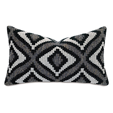 MONTEROSA WOVEN DECORATIVE PILLOW