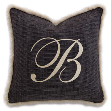 Gilmer Charcoal WITH monogram