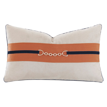 Ladue Faux Suede Accent Pillow in Taupe