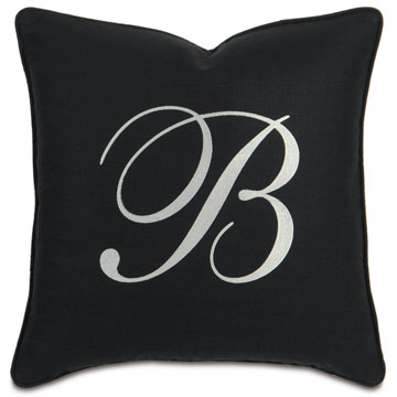 BREEZE BLACK WITH MONOGRAM