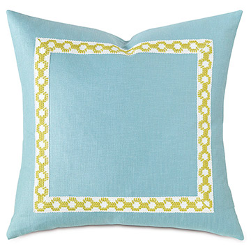 Palm Beach Accent Pillow