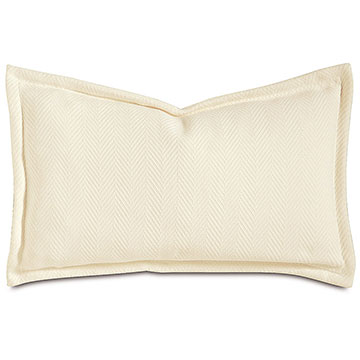 WILKE IVORY DEC PILLOW