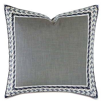 Montecito Embroidered Border Euro Sham