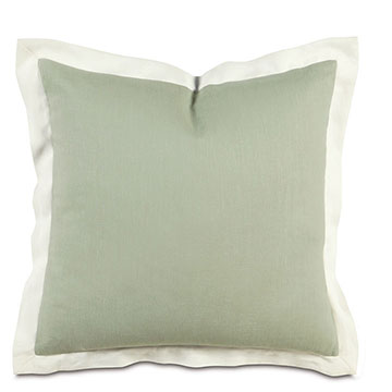 Bel Air Linen Euro Sham in Mint