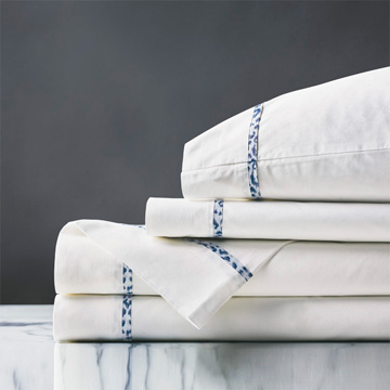 Tanner Indigo Sheet Set